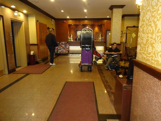 Hotel Newton : entrada