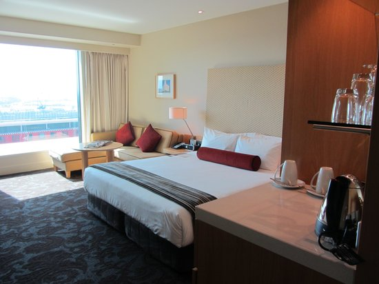SKYCITY Grand Hotel: Good view - nice furnishings
