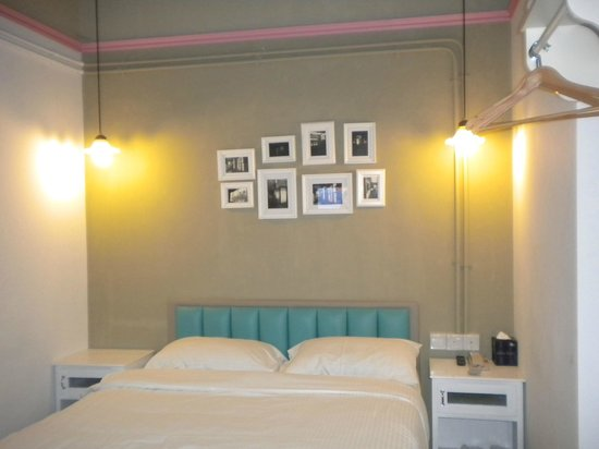 Kam Leng Hotel : I must say the bed and pillows are very comfy