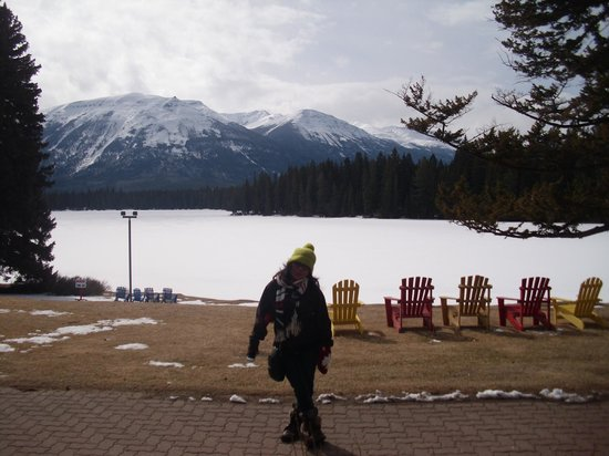 Fairmont Jasper Park Lodge : View from the Lodge