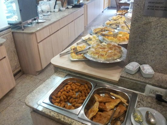 Hotel Regina : Super breakfast- Super Cafe da Manha area