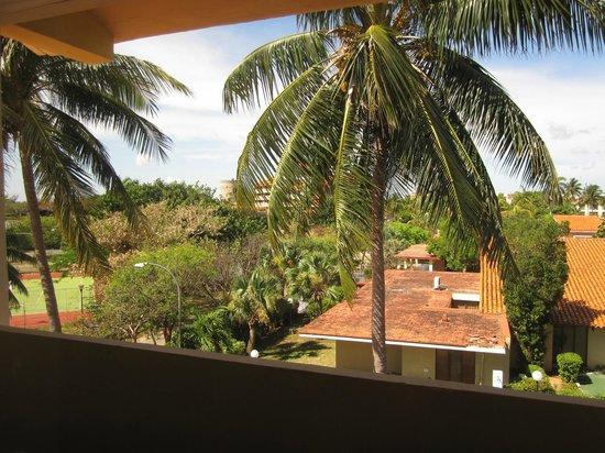 Sol Sirenas Coral Resort: La vue de notre chambre