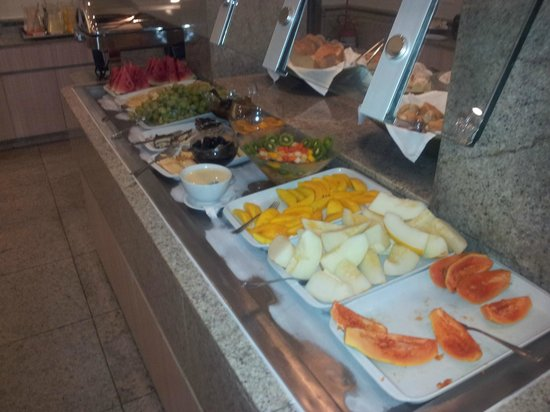Hotel Regina : Breakfast buffet