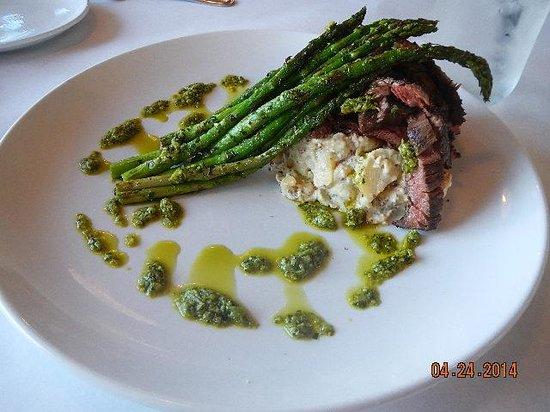 Hooked: skirt steak meal