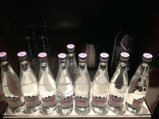 Park Hyatt Paris - Vendome: water bottle