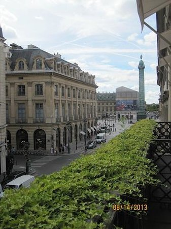 Park Hyatt Paris - Vendome: view from the room