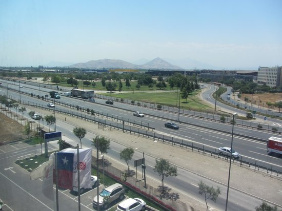 Hilton Garden Inn Santiago Airport : View from our room