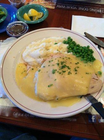 Marietta Diner: Roast Turkey With Stuffing - Lunch Special