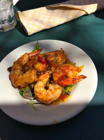 Cafe Amelie : Satsuma pepper glazed shrimp
