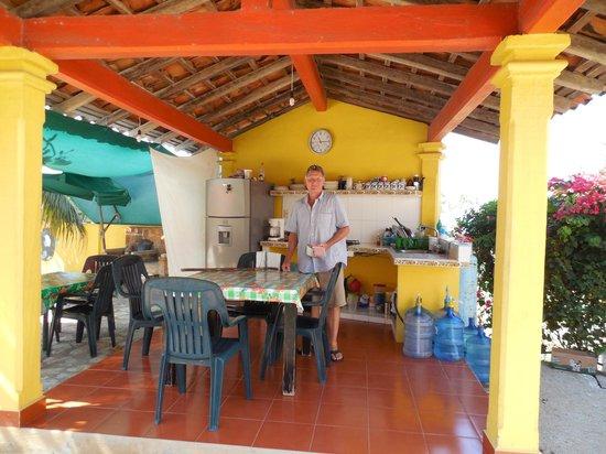 Casa Olga : Communal kitchen