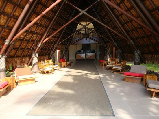 Likuliku Lagoon Resort: Reception