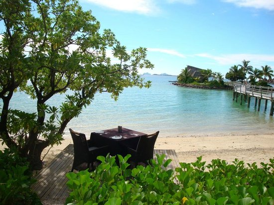 Likuliku Lagoon Resort: View from Oceanfront Bure