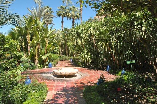 Le Meridien N'Fis : Hotel gardens