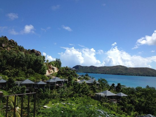 Raffles Seychelles: View from panoramic view villa