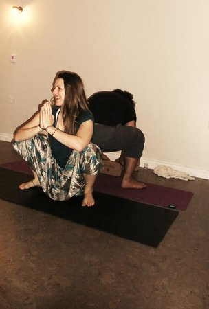 Pura Vida Soul Institute: Couple's Yoga Pose