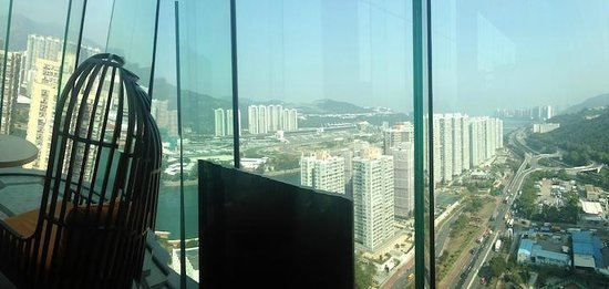 Courtyard Hong Kong Sha Tin : view from lounge
