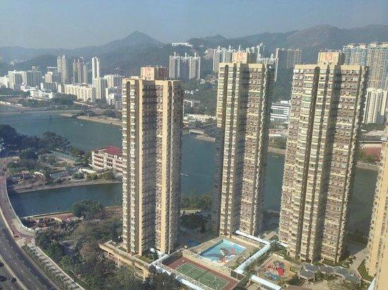Courtyard Hong Kong Sha Tin : lounge view