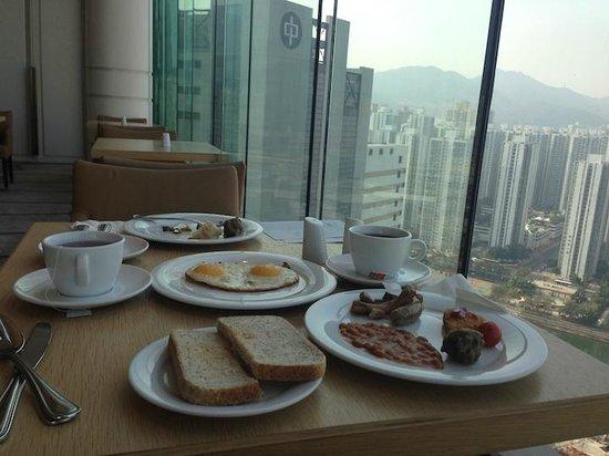 Courtyard Hong Kong Sha Tin : breakfast