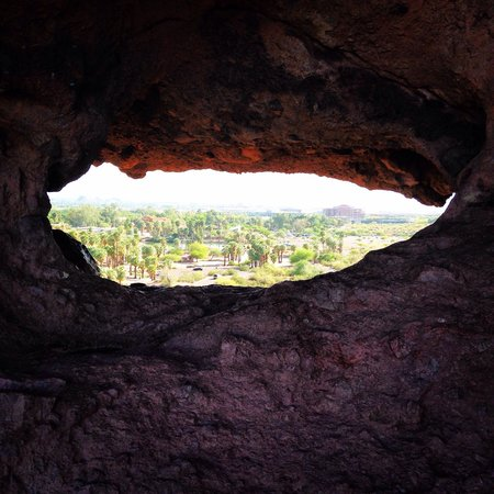 Hole in the Rock: Cool shot!