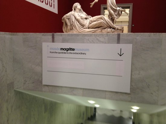 Musee Magritte Museum - Royal Museums of Fine Arts of Belgium: Entrada