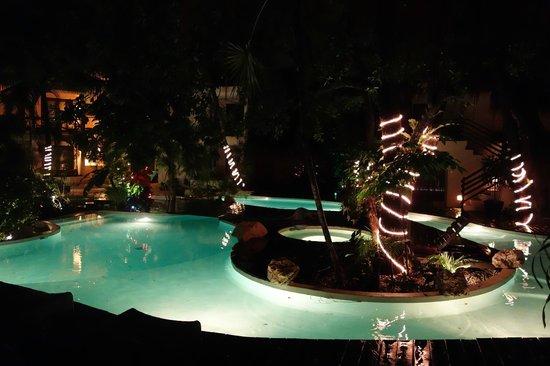 La Tortuga Hotel & Spa: Central garden pool / lounge area.