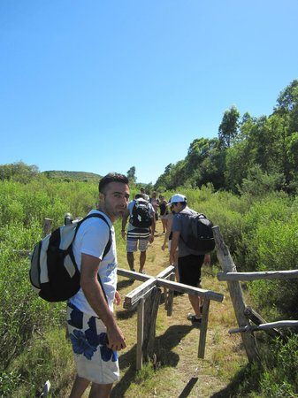 Paseo Sierra de Las Animas: Entrando