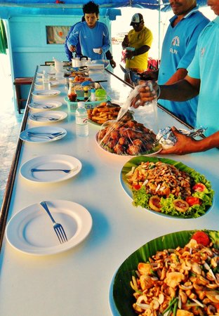 Sea Canoe Co. Ltd. : yummy food