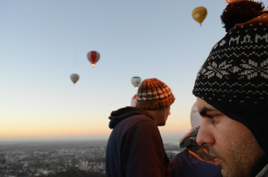 Picture This Ballooning - Melbourne and Yarra Valley: Brilliant views!