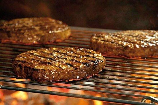 LA CASITA DE LA HAMBURGUESA: carne  deliciosa