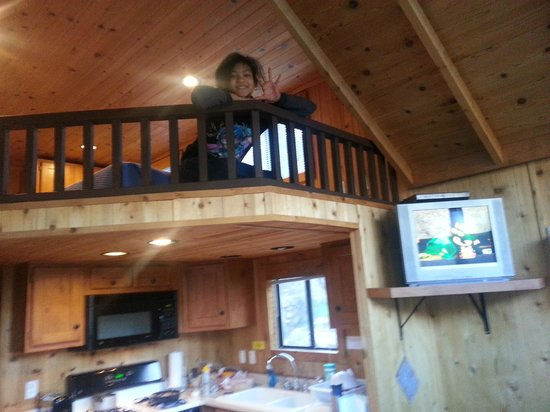 Glenwood Canyon Resort: our daughter really loved the sleeping loft