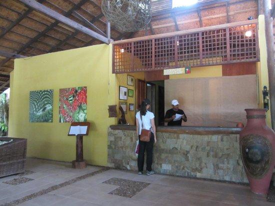 Amazon Ecopark Jungle Lodge : Reception