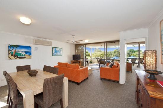 Sundancer Holiday Apartments: Apartment 5 Level One lIving area