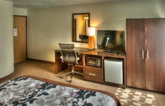 Sleep Inn : Fridge & Microwave