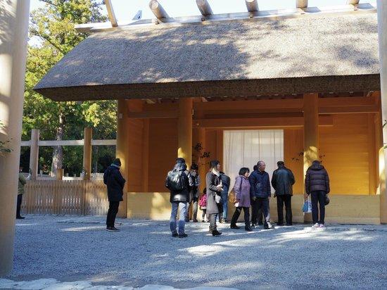 Le sanctuaire d'Ise : 外宮の正宮
