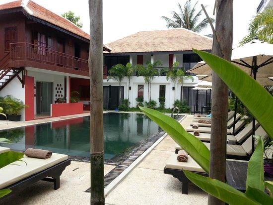 Suorkear Boutique Hotel & Spa: Pool and Spa area