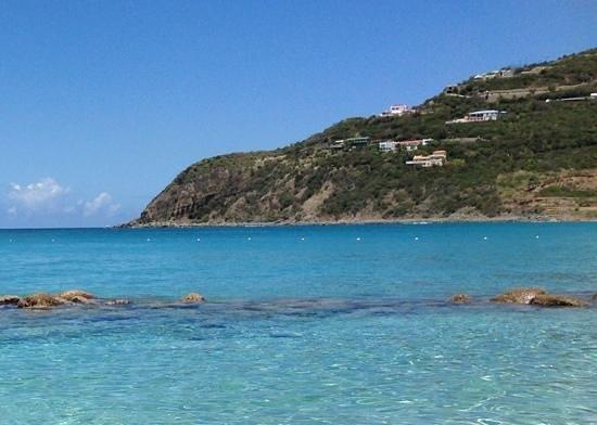 Divi Little Bay Beach Resort: view from the beach