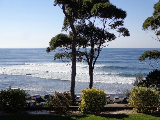 Mollymook Beach Waterfront: View from back verandah