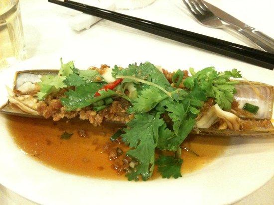 Jumbo Seafood : bamboo clam