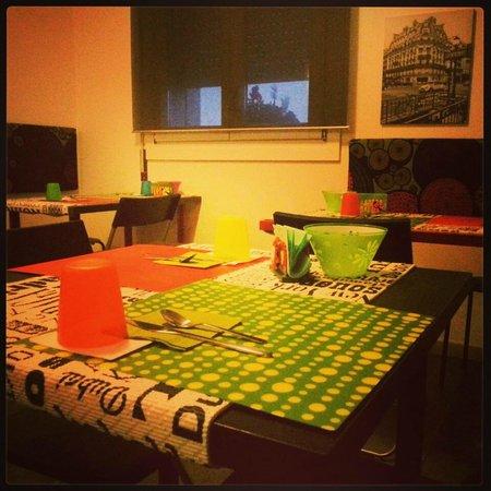 Borgo Sabbionara: sala colazione