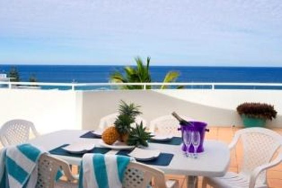 Sundancer Holiday Apartments: Top Level Private Roof Top Terrace