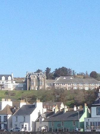 Fernhill Hotel: the hotel from the harbour