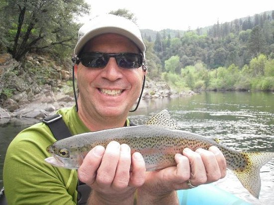 Jack Trout Fly Fishing: Upper Sac Rainbow
