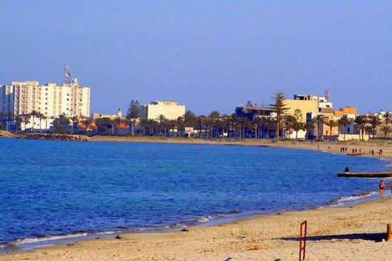 PrimaSol El Mehdi: la plage devant l'hôtel