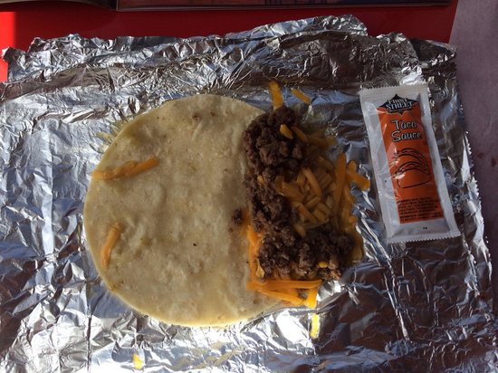 The Coffee Addiction: 3 Beef Tacos - $4.50