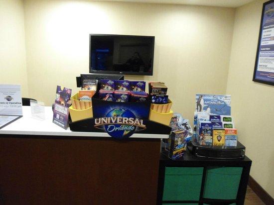 Hampton Inn Orlando Near Universal Blv / International Dr: stand Universal