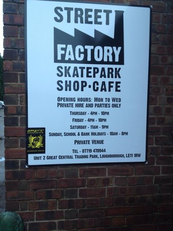Street Factory Skatepark Ltd