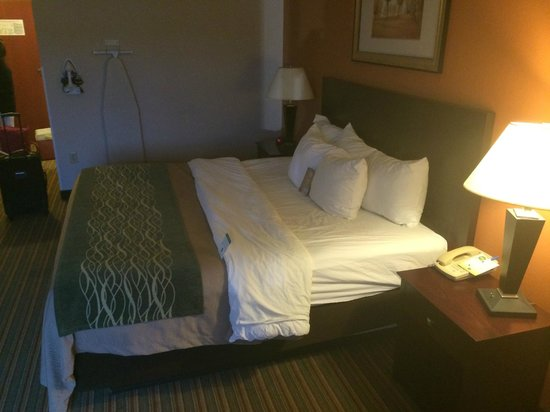 Comfort Inn & Suites: bed
