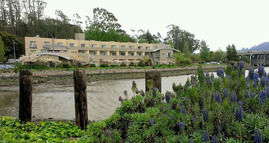 Acqua Hotel Mill Valley: The Acqua from the pier nearby.