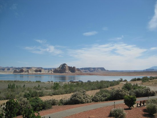 Lake Powell Resort : View from Room 870