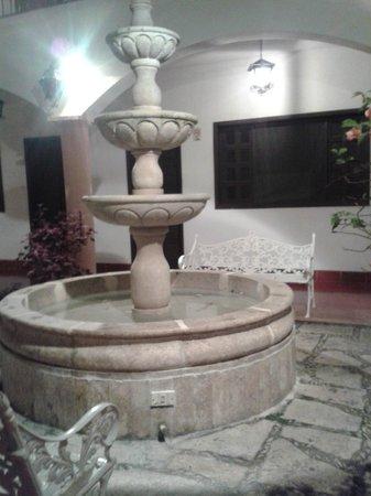 Hotel Zaci: pasillo